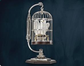 Hedwig im Käfig - Miniatur