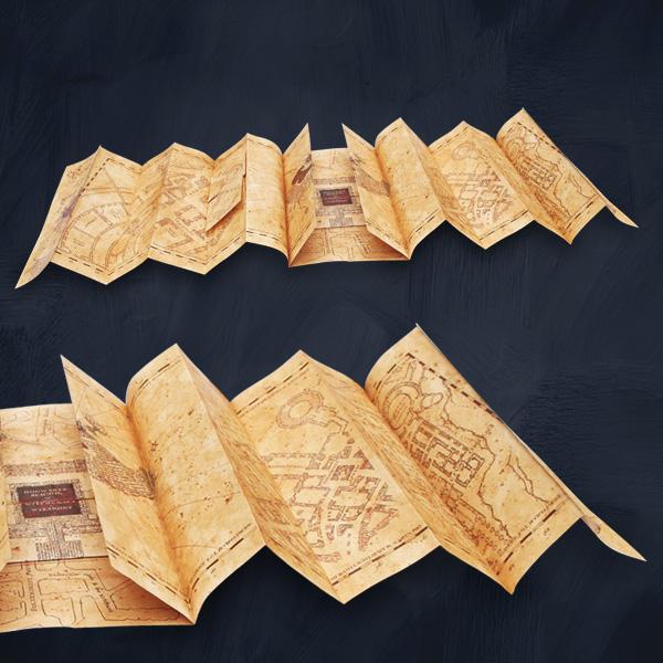 die karte des rumtreibers hogwarts schule f r hexerei und zauberei. Black Bedroom Furniture Sets. Home Design Ideas